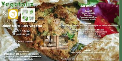 [Vegetaliz] Soirée végétale & bio à Thonon