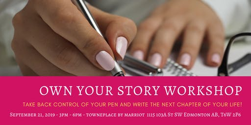 Own Your Story Workshop