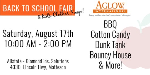 FREE Back to School Celebration & Kids Clothes Swap