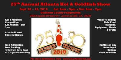 25th Annual ATLANTA KOI & GOLDFISH SHOW