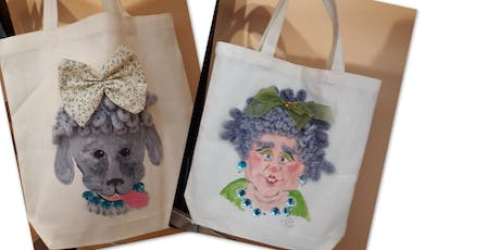PYOB: Paint your own Bag tickets