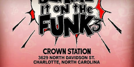 Blame It On The Funk 3  tickets