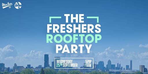 The London Freshers 2019 Roof Top Party