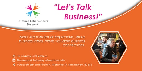 "Birmingham Networking Event - ""Let's Talk Business!"" tickets"