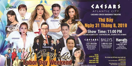 VIETNAMESE MUSIC - CAESARS ATLANTIC CITY - 31 AUGUST 2019