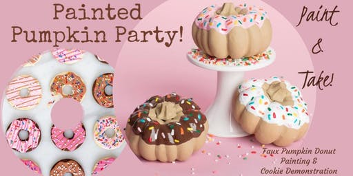 Donut Pumpkins+ Cookie Party!