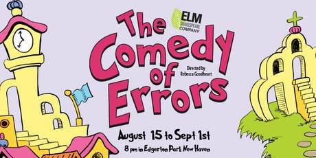 The Comedy of Errors tickets