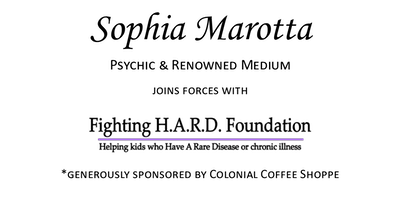 Dinner and Psychic Event with Sophia Marotta