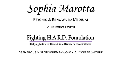 Dinner and Psychic Event with Sophia Marotta tickets