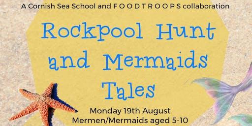 Rockpool hunt and Mermaids Tales (Afternoon workshop)