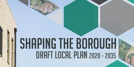 Draft Local Plan drop-in public engagement event Leytonstone 210919 tickets