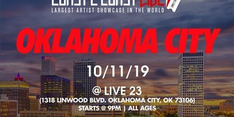 Coast 2 Coast LIVE Artist Showcase OKC - $50K Grand Prize tickets