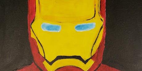 Brunch & Paint - Iron Man tickets