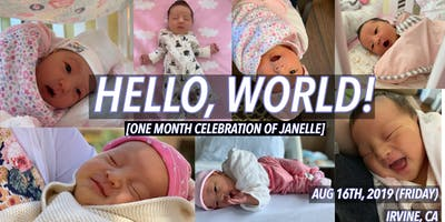 One Month Celebration Of Janelle
