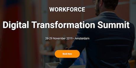 Workforce Digital Transformation Summit tickets
