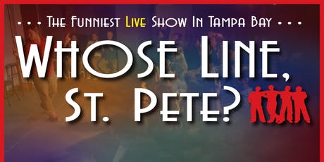 CoreyStrong Improv Comedy Show - Whose Line, St. Pete? tickets