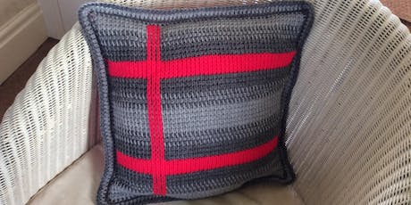 Introduction to Tunisian Crochet - Cushion Workshop  tickets