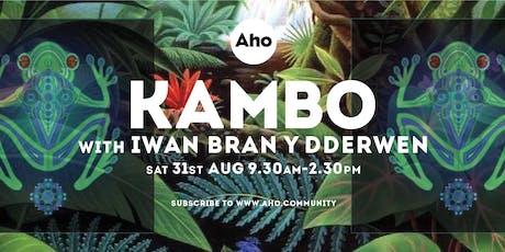 Kambo Ceremony with Iwan Bran y Dderwen, Sat 31st Aug 930am tickets