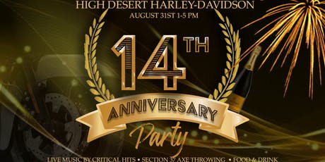Anniversary Party tickets