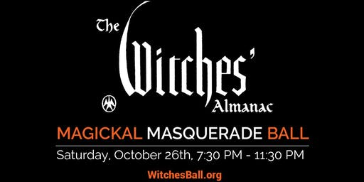 The Witches Almanac Masquerade Ball