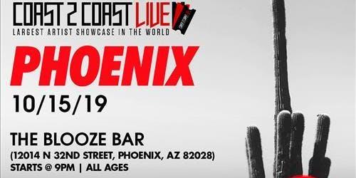 Coast 2 Coast LIVE Artist Showcase Phoenix, AZ- $50K Grand Prize