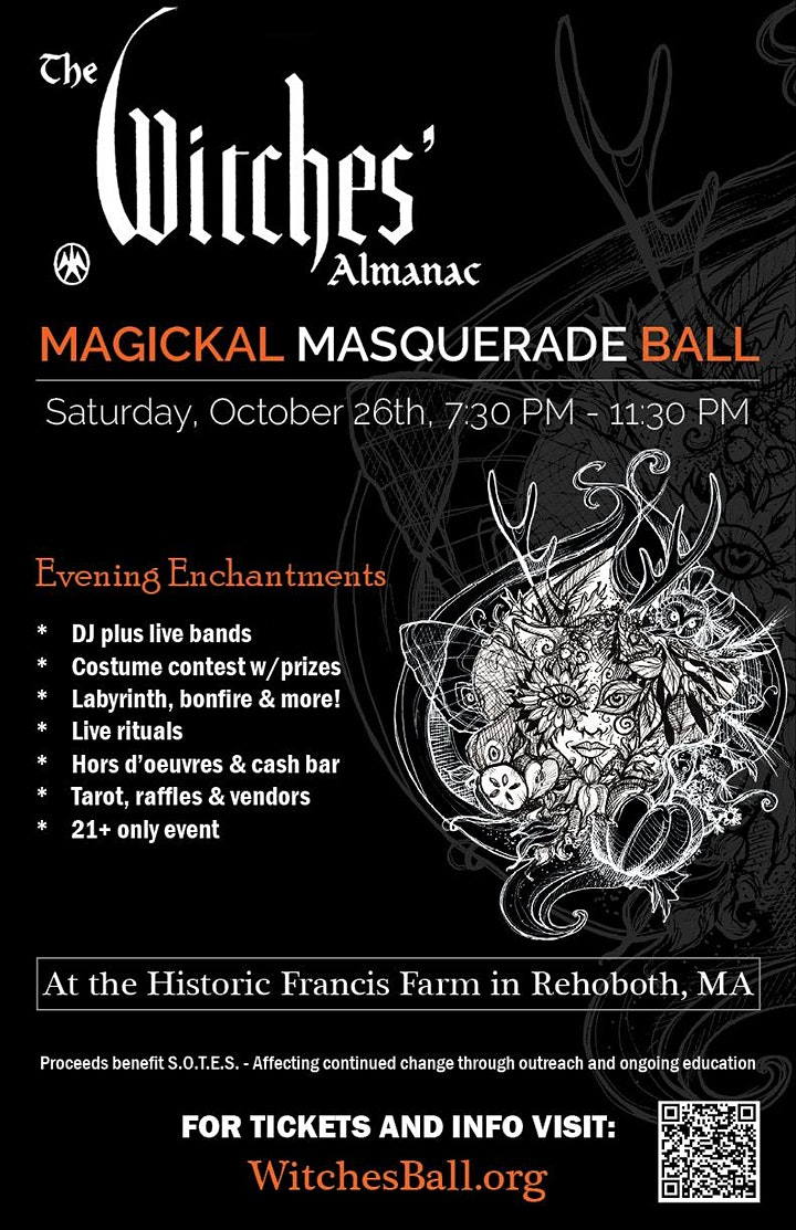 The Witches Almanac Masquerade Ball image