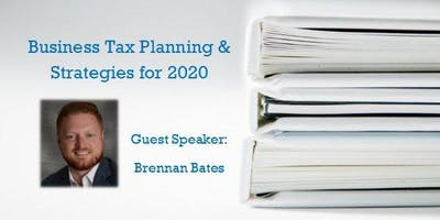Business Tax Planning & Strategies - Bring your Lunch and Learn