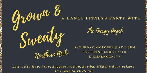 Grown and Sweaty Dance Fitness Party