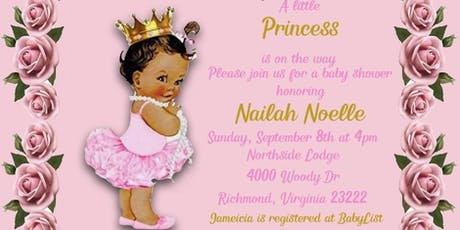 Jameicia (Mimi) and Chandler's Baby Shower tickets