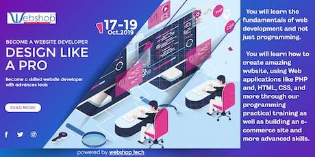 E commerce Web Design and Marketing tickets