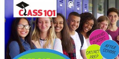 Class 101 - SAT Practice Test