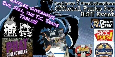 TOY CARTEL TRADING TABLE COMICFEST POP-UP tickets