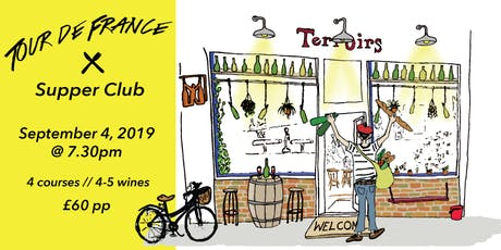 Tour de France Supper Club tickets