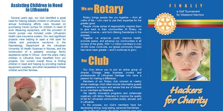 11th Annual Rotary Club of Chicagoland Lithuanians Charity Golf Tournament tickets