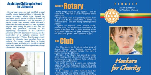 11th Annual Rotary Club of Chicagoland Lithuanians Charity Golf Tournament