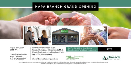 Napa Branch Grand Opening