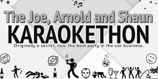 The Joe, Arnold and Shaun Karaokethon - Digital Dealer 27