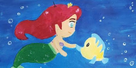 Brunch & Paint- Little Mermaid tickets