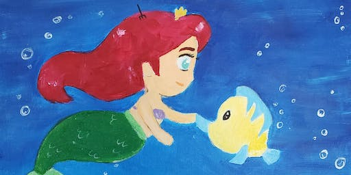 Brunch & Paint- Little Mermaid