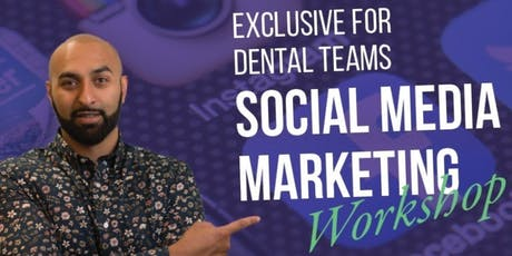 Social Media Marketing for Dental Teams tickets