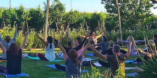 Uncork & Unwind: Morning Yoga In The Vineyard