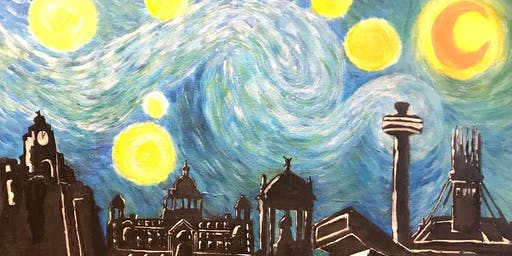 Paint Starry Night over Liverpool!