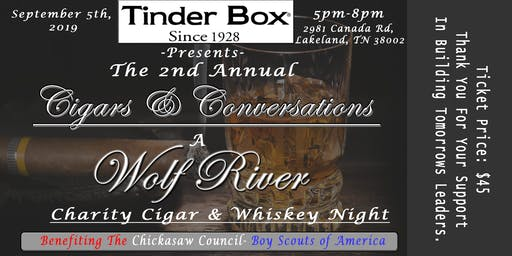 A Night of Cigars and Conversations.
