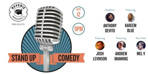 Reverie Beer & Comedy Night