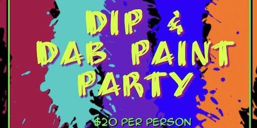 Dip & Dab Paint Party