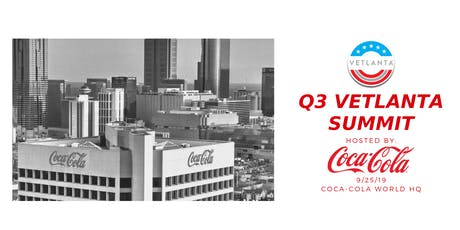 VETLANTA Q3 Summit: Highlighting Atlanta's Women Veterans, hosted by The Coca-Cola Company tickets