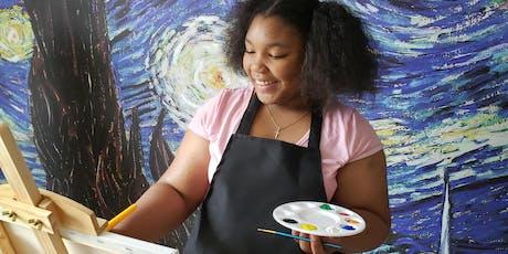 Paint Medium Exploration- After School Camp (Middle School 6-8th Grade) tickets