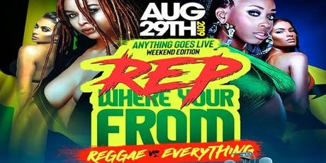 Rep Where You're From Reggae Vs. Everything @ Harbor Lights Yacht Thursday tickets
