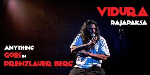 English Standup in Prenzlauer Berg | Vidura Rajapaksa |Anything Goes