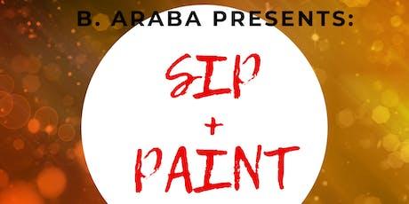 B. Araba Presents: Sip+Paint+Afrobeats tickets